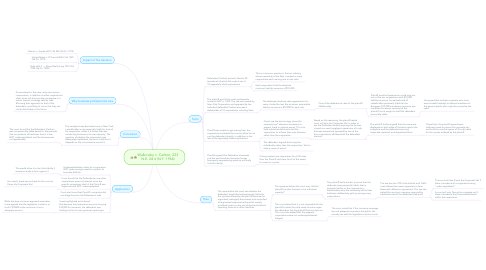 Mind Map: Walkovsky v. Carlton, 223 N.E. 2d 6 (N.Y. 1966)