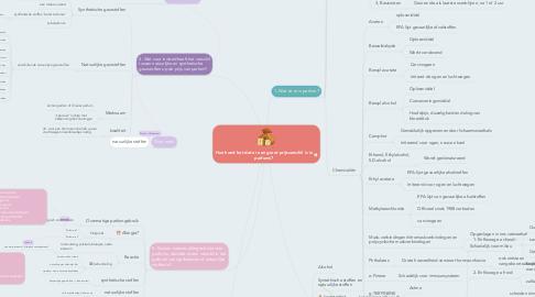 Mind Map: Hoe komt het dat er een groot prijsverschil is in parfums?