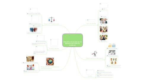 Mind Map: PRINCIPIO DE IGUALDAD EN MATERIA DE DERECHO FAMILIAR.