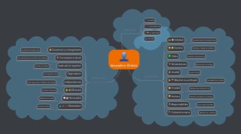Mind Map: Amandine Chalais