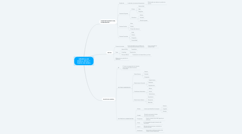 Mind Map: ESTRUCTURA SOCIAL, INSTITUCIONES Y ACTORES SOCIALES