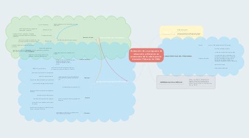 Mind Map: Evaluación de un programa de educación a distancia en promoción de la salud para la Atención Primaria de Chile