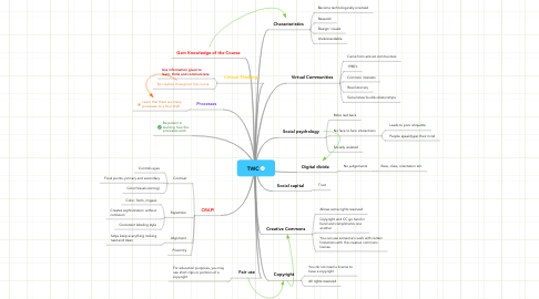 Mind Map: TWC