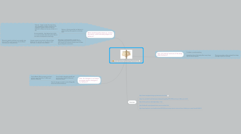 Mind Map: Body and Behavior Psychology