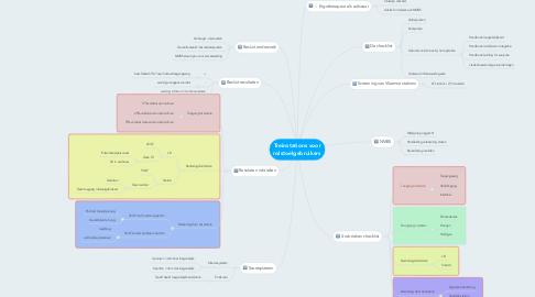 Mind Map: Treinstations voor rolstoelgebruikers