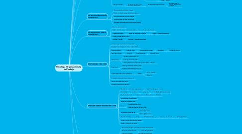 Mind Map: Psicologia Organizacional y del Trabajo