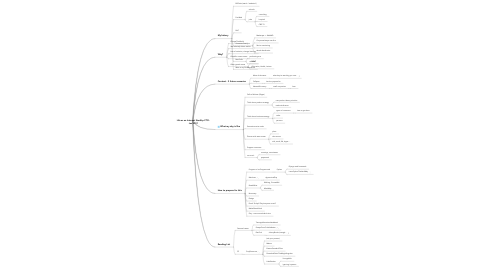 Mind Map: Life as an Internet StartUp CTO -