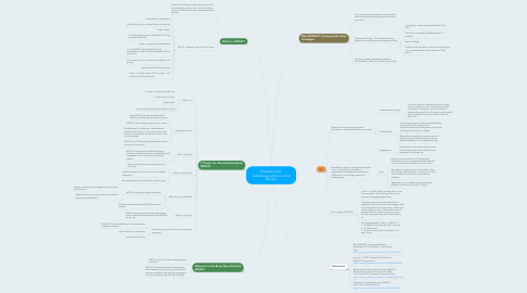 Mind Map: Education with Technology and our Local Society