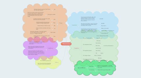 Mind Map: Mise-En-Scene