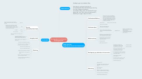 Mind Map: 32-årig patient med kroniske lænderygsmerter