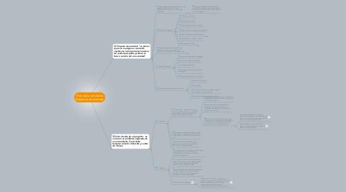 Mind Map: Ciclo de la vida de los Proyectos de Inversión