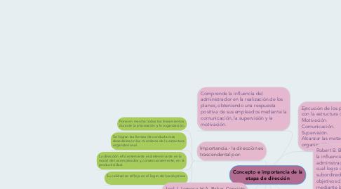 Concepto E Importancia De La Etapa De Dirección Beispiel