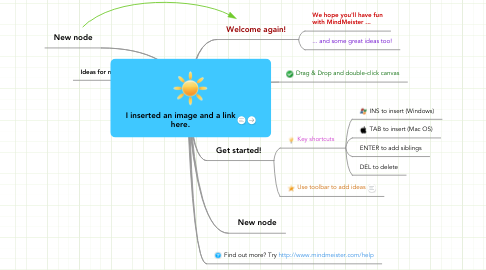 Mind Map: I inserted an image and a link here.