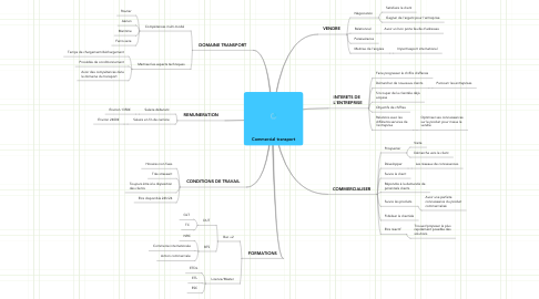 Mind Map: Commercial transport