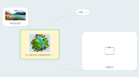 Mind Map: EL MEDIO AMBIENTE