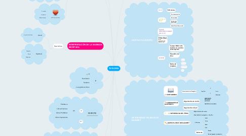 Mind Map: TEOLOGÍA