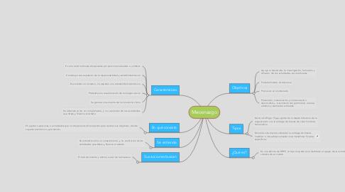 Mind Map: Mecenazgo