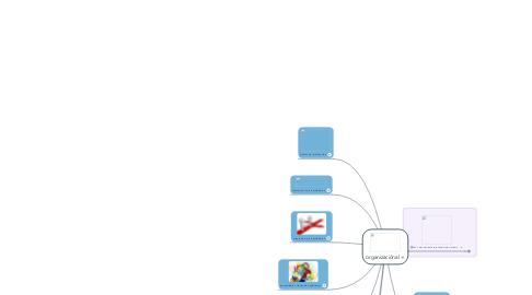 Mind Map: organizaciónal