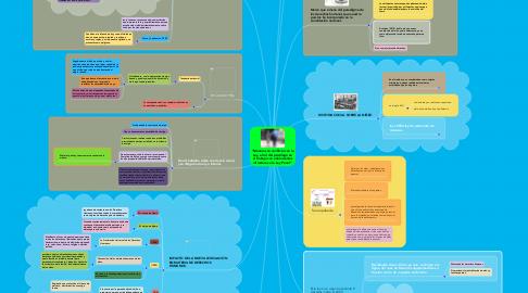 """Mind Map: """"Menores en conflicto con la Ley, el rol del psicólogo en el trabajo con adolescentes infractores a la Ley Penal""""."""