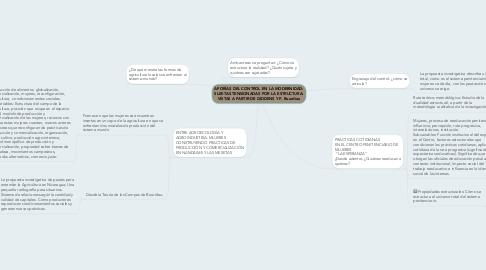Mind Map: APORÍAS DEL CONTROL EN LA MODERNIDAD: SUJETAS TENSIONADAS POR LA ESTRUCTURA: VISTAS A PARTIR DE GIDDENS Y P. Bourdieu