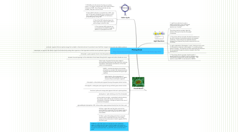 Mind Map: Photosynthesis http://www.emc.maricopa.edu/faculty/farabee/biobk/biobookps.html