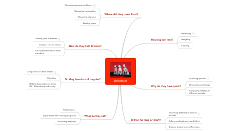 Mind Map: Dalmations