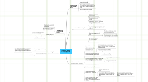Mind Map: Chapter 23: Feminist Guerrilla Video in the Twin Cities