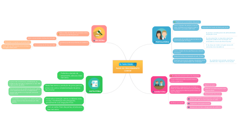 Mind Map: FASES DO PROCEDIMENTO COMUM