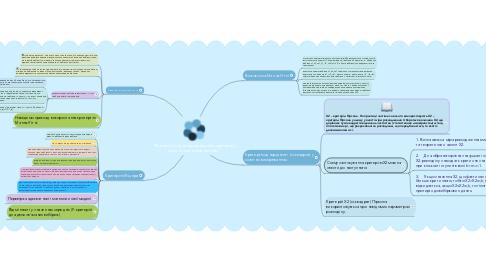"""Mind Map: """"Використання непараметричних критеріїв у педагогічних вимірюваннях""""."""
