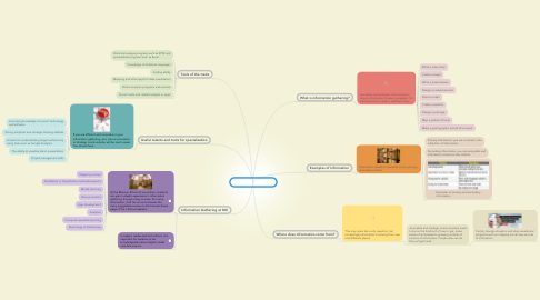 Mind Map: Information Gathering
