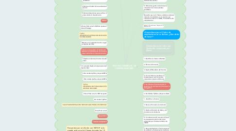 Mind Map: POLITICA COMERCIAL DE COMPENSACIONES