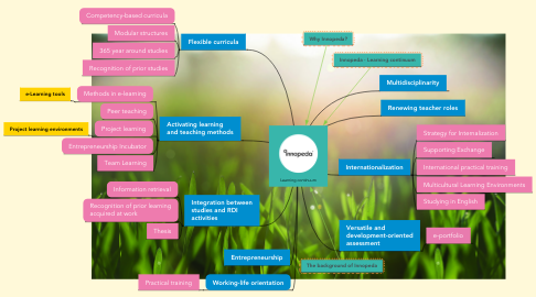 Mind Map: Learning continuum
