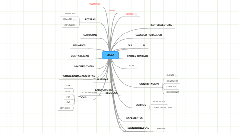 Mind Map: ERLEA