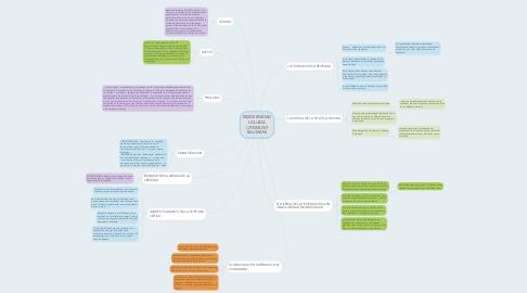 Mind Map: MODERNIDAD LIQUIDA ( ZYGMUNT BAUMAN)