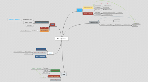 Mind Map: The 4 Sports