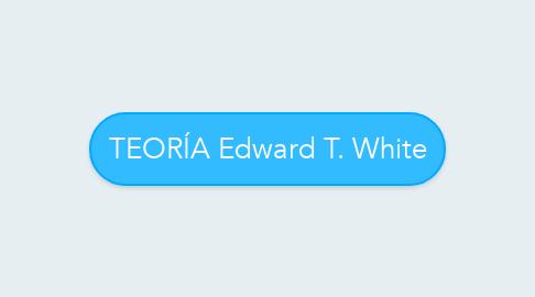 Mind Map: TEORÍA Edward T. White
