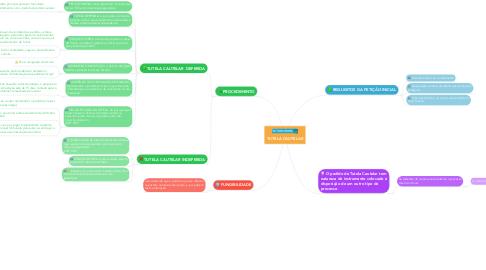 Mind Map: TUTELA CAUTELAR