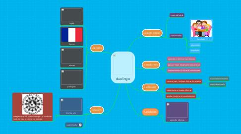 Mind Map: duolingo