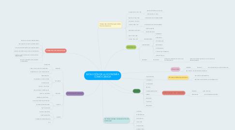 Mind Map: EVOLUCIÓN DE LA ECONOMÍA  COMO CIENCIA