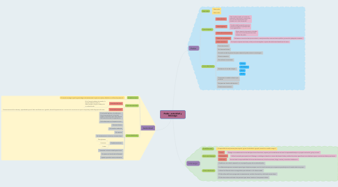 Mind Map: Poder, autoridad y liderazgo