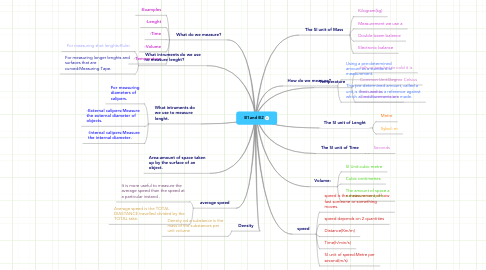 Mind Map: B1and B2
