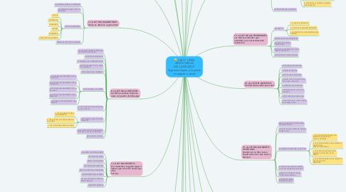 Mind Map: LAS 21 LEYES IRREFUTABLES DEL LIDERAZGO Siga estas leyes, y la gente lo seguirá a usted