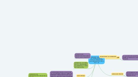 Mind Map: ELEMENTOS Y PRINCIPIOS DE ADMINISTRACION POLITICA PENSADORES COLOMBIANOS DEL SIGLO XIX Y  XX