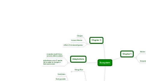 Mind Map: Ecosystem