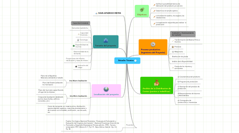 Mind Map: Estudio Técnico