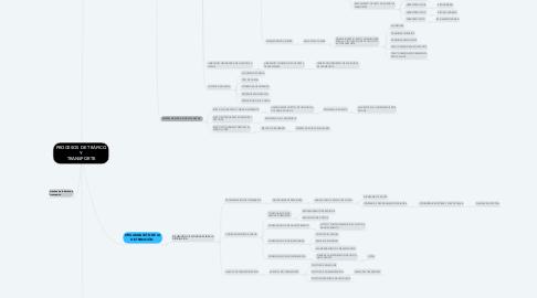 Mind Map: PROCESOS DE TRÁFICO Y TRANSPORTE