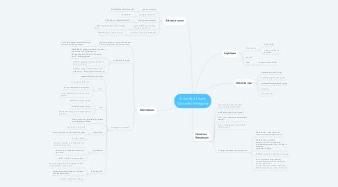Mind Map: D'une île à l'autre Choix de l'entreprise