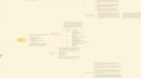 Mind Map: Las Áreas Funcionariales
