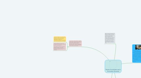 Mind Map: Teorías Curriculares en la Formación Docente
