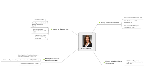 Mind Map: Barbara Sears